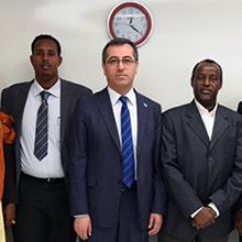 Somali Heyetinin Türkiye Temaslarında NOVA Görev Aldı